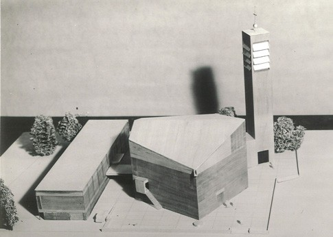 Modell der Michaelskirche