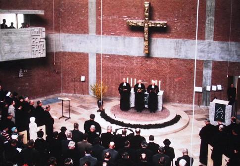 Einweihung der Michaelskirche